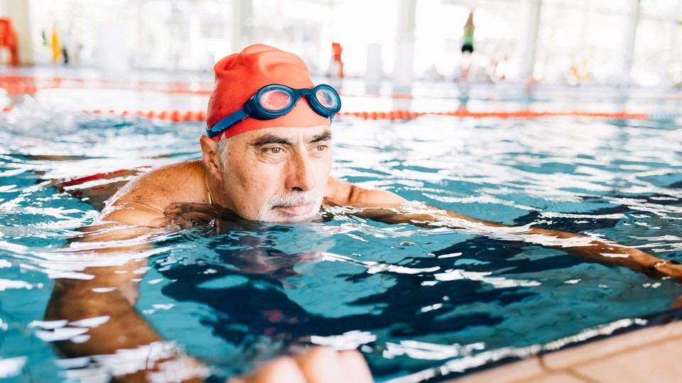 Water-based exercise for heart disease