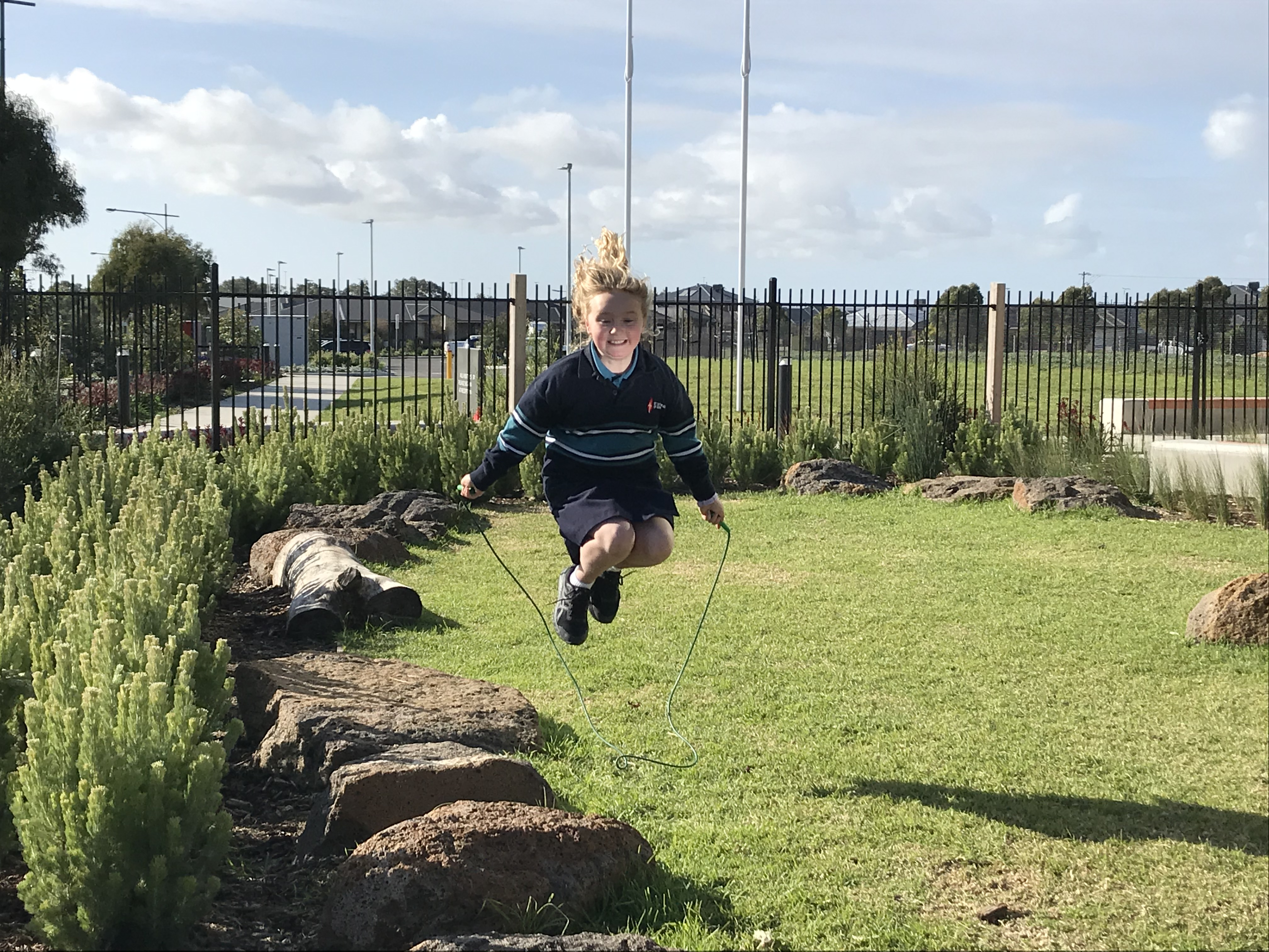 Matilda signs up for Jump Rope just one month after open-heart surgery