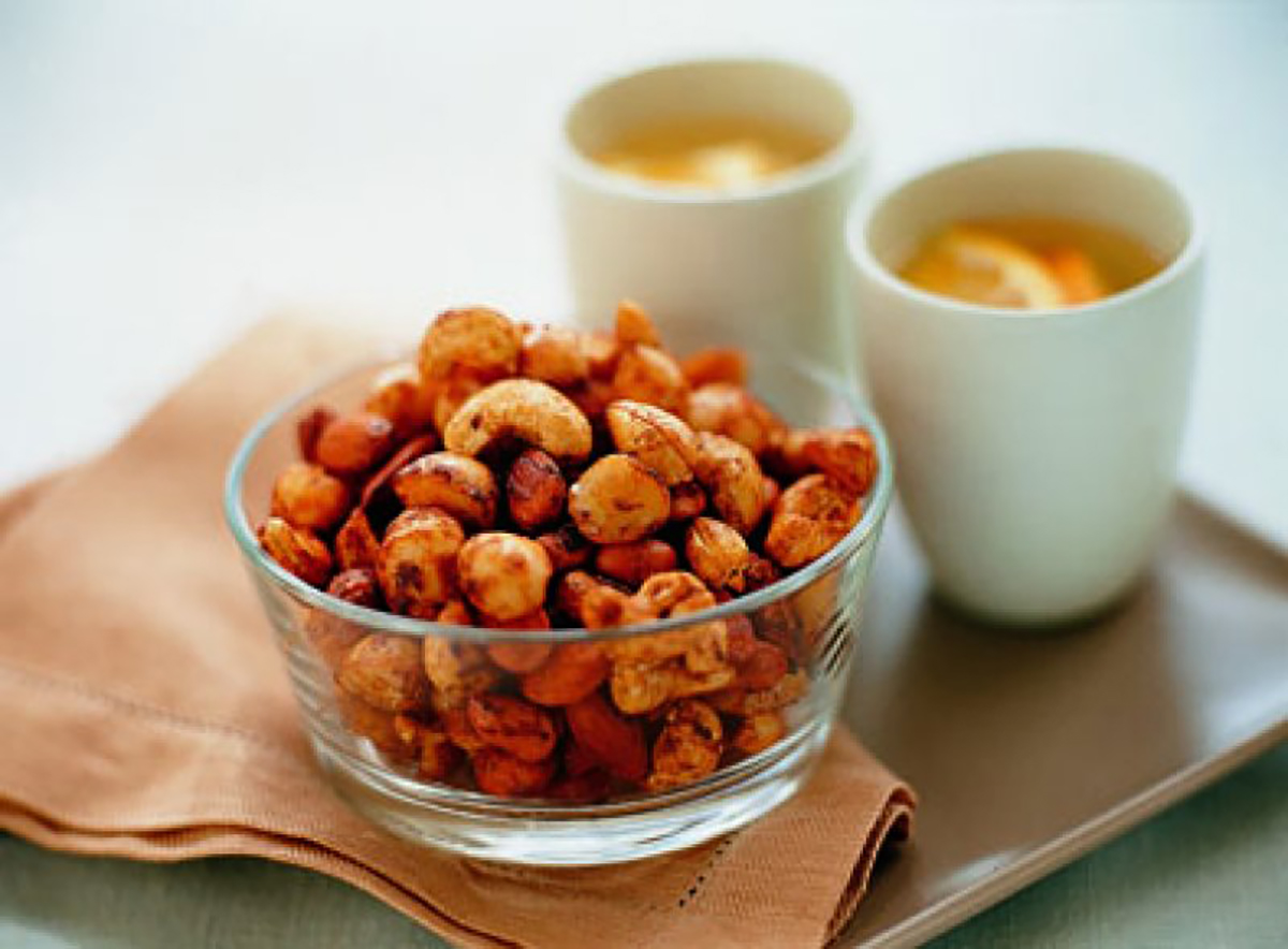 Chilli soy roasted nuts