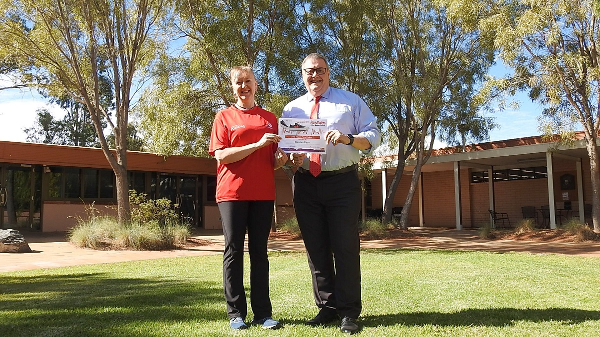 Alice Springs walkers clock up almost 3.5 million steps in lockdown challenge