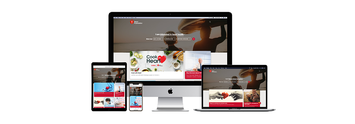 Introducing the Heart Foundation's new website