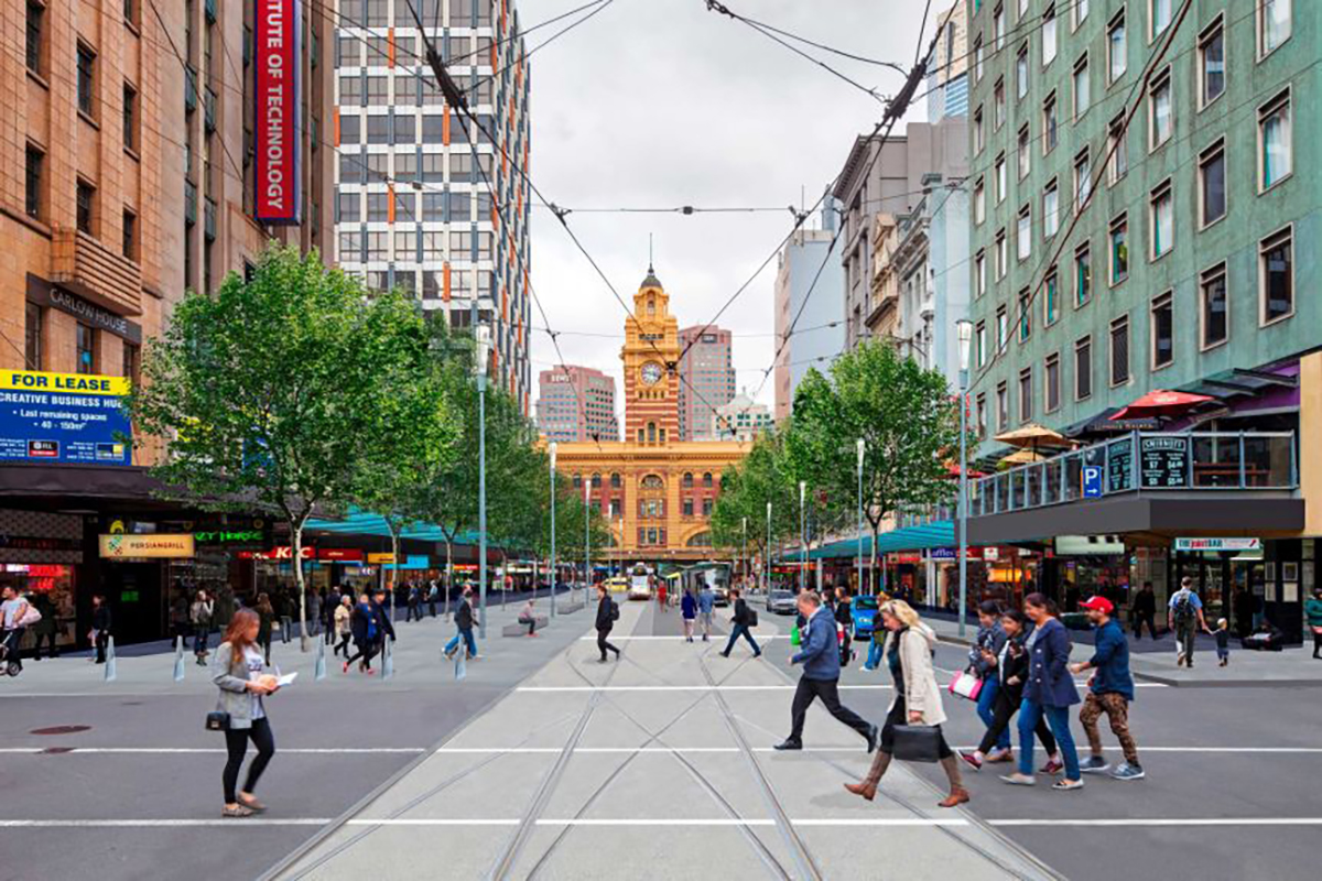 Heart Foundation urges City of Melbourne to green light Elizabeth Street improvement