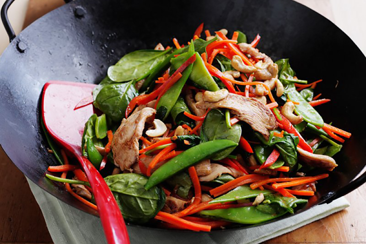 Honey and soy chicken stir-fry