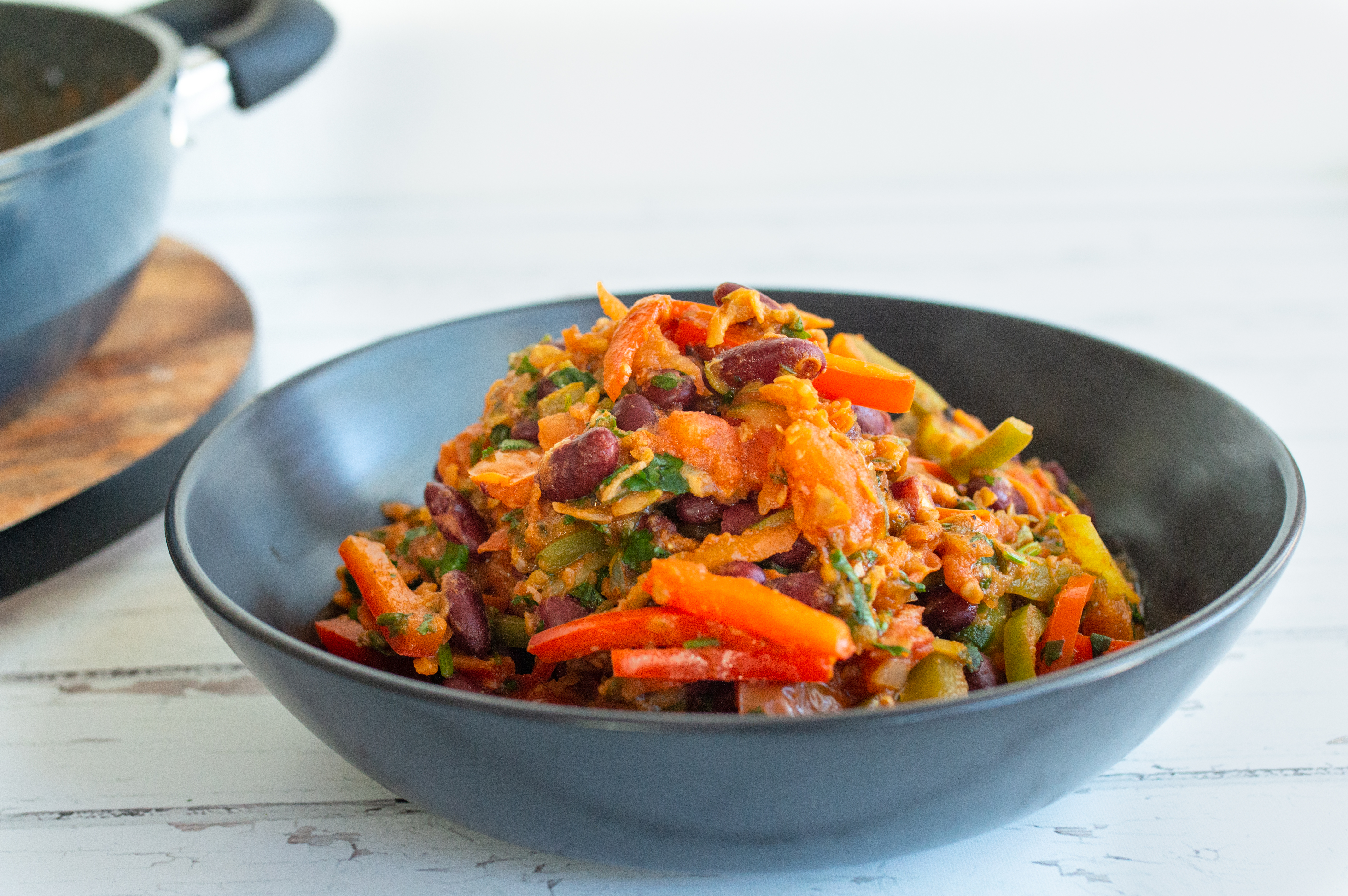 Spicy bean Mexican mix