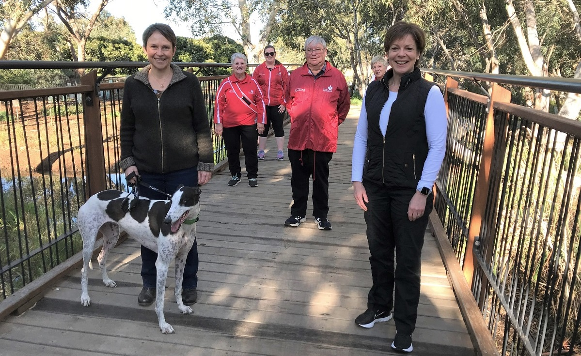 Victorian Heart Foundation Walking groups resume