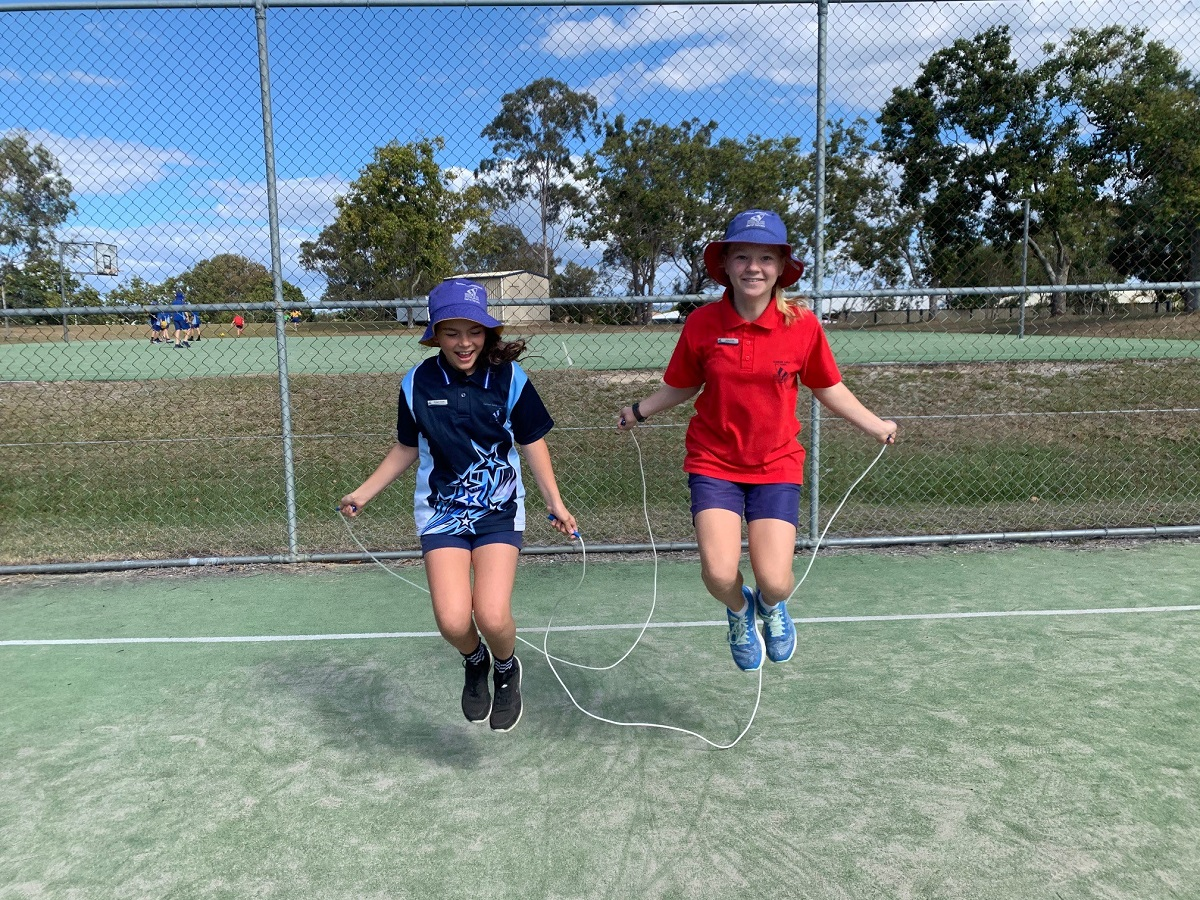 Gladstone school skips to top spot in Jump Rope fundraiser