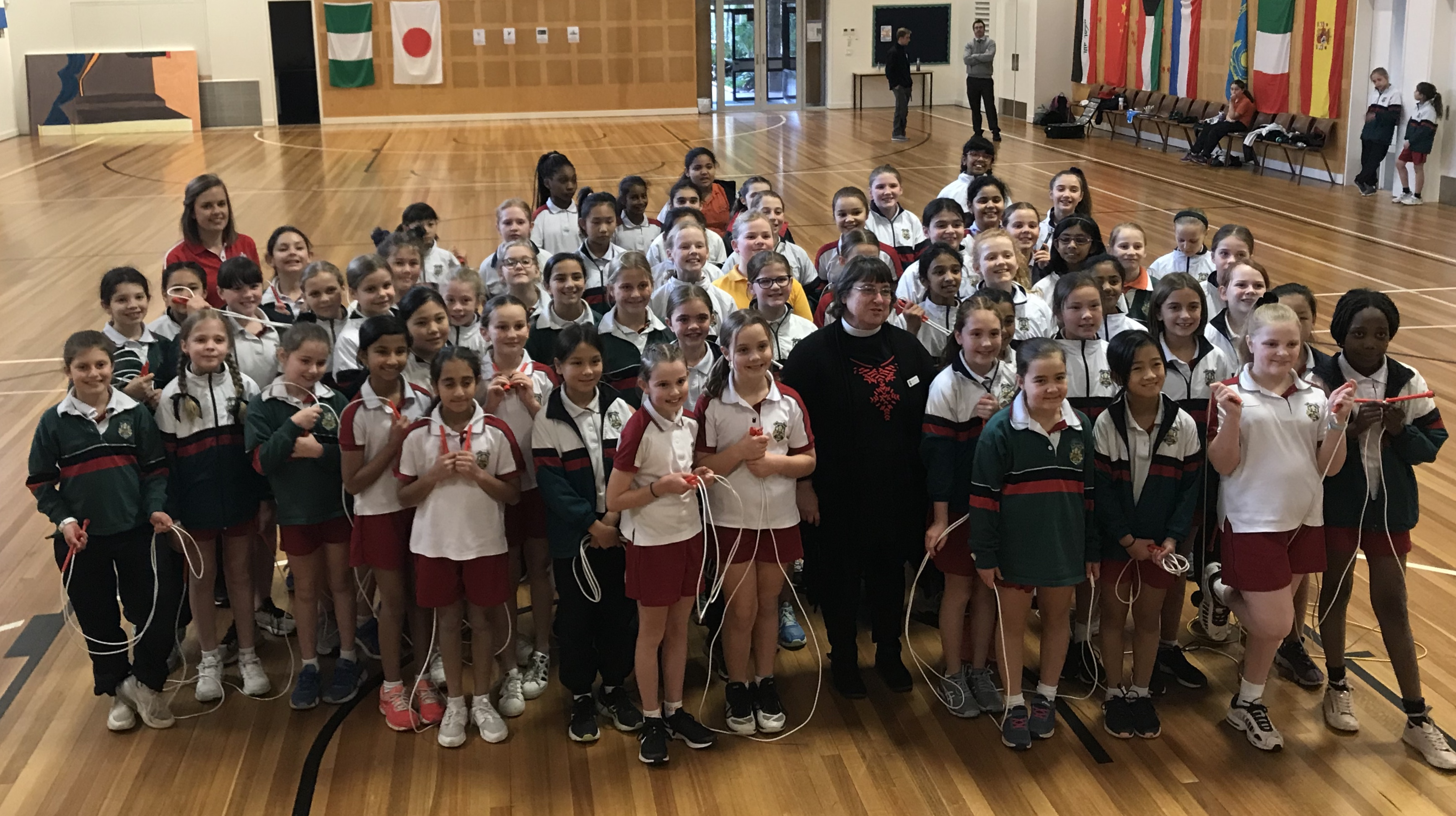 Canberra school's moving reason for doing Jump Rope for Heart program