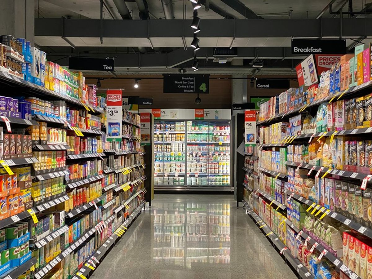 Improving the healthiness of the foods in Australian supermarkets